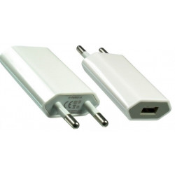 IP-PWR ALIMENT. AC-USB BIANCO IPHONE IPOD 4032528015026 INXTRON