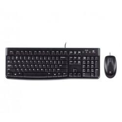 920-002543 TASTIERA MK120 LOG + MOUSE NERA USB RETAIL 5099206020511 LOGITECH