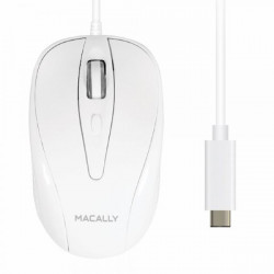 UCTURBO MOUSE OTTICO MACALLY USBC 0701107497068 MACALLY