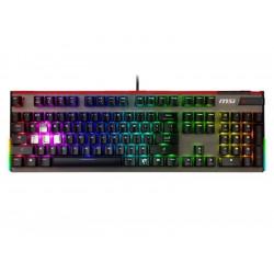 S11-04IT214-HH6 TASTIERA GAMING VIGOR GK80 BLACK MECCANICA SILVER ILLUMINAZIONE RGB 4719072571047