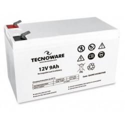 EACPE12V09ATWB BATTERIA UPS TECNOWARE 12VDC 9AH HIGH ERMETICA AL PIOMBO BULK 8026475165978 TECNOWARE