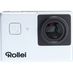 40311 ACTION CAMERA ROLLEI UHD 4K 25FPS 525 ARGENTO WIFI+ACCESSORI 4048805403110 ROLLEI
