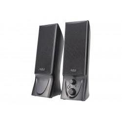 760-00014 SPEAKER 2.0 USB 2*2W SLENDER BK PC/SMARTPHONE/TABLET ADJ 8058773838414 ADJ