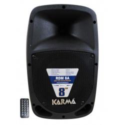 """RDM 8A SPEAKER KARMA RDM8A 8"""" 120W AMPLIFI CATO FM/USB/BLUETOOTH/TELECOMANDO 8015439250089 KARMA"""