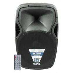 """BX 7415A SPEAKER 15"""" 450W MP3/SDCARD/USB 150W RMS 8015439174156 KARMA"""