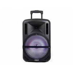 760-00012 SPEAKER BLUETOOTH 80W KARAOK BOB BK C/FM/AUX/TF/MIC/RUOTE/MANIG/TELECO 8058773836724 ADJ