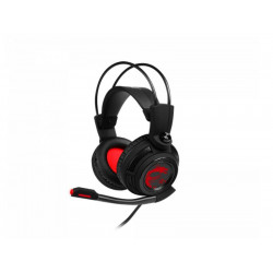 S37-2100911-SV1 CUFFIA GAMING 3,5MM DS502 7.1 NEW RED LED 4719072606084 MSI MICROSTAR