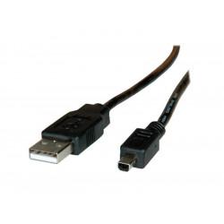ADJKOF21028619 CAVO ADJ USB 2.0 A/MITSUMI 1,8MT BK ADJ 4213467214118 ADJ
