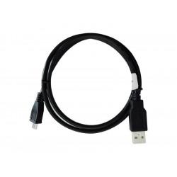 320-00091 CAVO USB 2.0 A-MICRO A 0,8MT M/M BK ADJ 8058773838629 ADJ