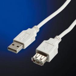 S3142 CAVO USB 2.0 A-5PIN MINI 1,8MT WHT 7611990998913 ROLINE/VALUE