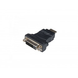 320-00040 ADATTATORE HDMI-DVI M/F BK NO CAVO ADJ 8053251239363 ADJ