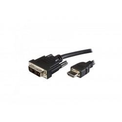 300-00035 CAVO DVI 19PIN-HDMI 2MT M/M BK ADJ 8053251239448 ADJ
