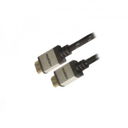 300-00059 CAVO HDMI 2MT M/M PER 4K BK/SL NYLON/CONN. ALLUMINIO ADJ 8058773832054 ADJ