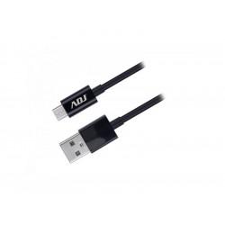 110-00091 CAVO USB 2.0 A-MICRO A 1,5MT BK AI101 ADJ 8058773833792 ADJ