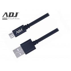 110-00102 CAVO USB 2.0 A-MICRO A 1,5MT BK SPEEDY CABLE FAST CHARGE 3A ADJ 8058773837004 ADJ