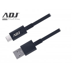 110-00103 CAVO USB 2.0 A-C AIFP9 NEXT BK TYPE C FAST CHARGE 1,5M 3A ADJ 8058773837011 ADJ