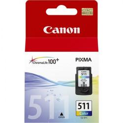 2972B001 INK CANON CL-511 COLOR PIXMA240/260 4960999617039 CANON
