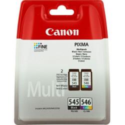 8287B006 INK CANON PG-545+CL-546 MULTIPACK NERO+COLORE PER MG2450 8ML 8714574605524 CANON
