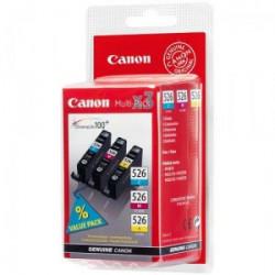 4541B009 INK CANON CLI-526 MULTIPACK CIANO/ MAGENTA/GIALLO PIXMA 5150-6150-8150 8714574554457 CANON