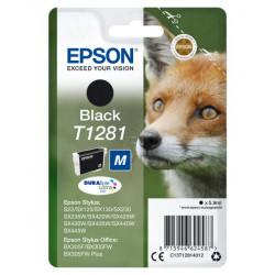 C13T12814020 INK EPSON T1281 NERO PER STYLUS S22/BX305F/SX125 8715946624594 EPSON