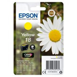 C13T18044010 INK EPSON 18 GIALLO PER EXPRESSION HOME XP30 8715946625164 EPSON