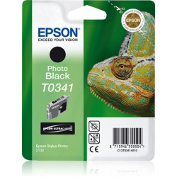 C13T03414020 INK EPSON T0341 NERO FOTO PER STYLUS PHOTO 2100 620PG 8715946358383 EPSON