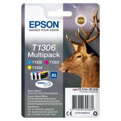 C13T13064020 INK EPSON CIANO/MAGENTA/GIALLO PER 20FW - 1CONF. 8715946624860 EPSON