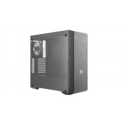 MCB-B600L-KA5N-S02 CASE MID-TOWER NO PSU MASTERBOX MB600L 2USB3 BLACK GREY WINDOW PANE