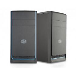 MCB-E300L-KN5N-B01 CASE MINI-TOWER NO PSU MASTERBOX E300L 2USB3 ODD BLACK/BLUE 4719512071618 COOLER