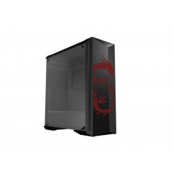 306-7G09M71-W57 CASE MID-TOWER NO PSU MPG GUNGNIR 100D 2*USB 3.1 WINDOW TEMP GLASS 4719072607470