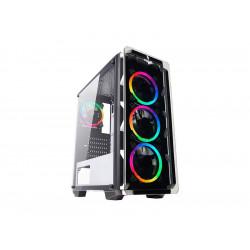 CS0818XT-G5W745 CASE MID-TOWER NO PSU COOL G5 WHT 1USB3 2USB2 VETRO TEMPERATO RGB FAN 8053323501886