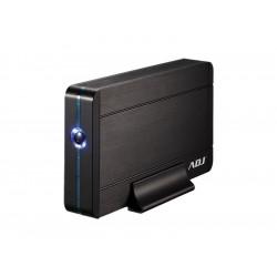 """120-00010 BOX 3.5"""" SATA TO USB 3.0 MAX 8TB BK AH640 BOX ALLUMINIO/PLASTICA ADJ 4213880314105 ADJ"""