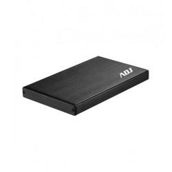 """120-00024 BOX 2.5"""" SATA TO USB 3.0 MAX 2TB BK AH612 BOX MAX HDD 9,5 MM ADJ 8054608900523 ADJ"""