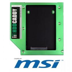 "CADDYMSI CADDY MSI PER HDD/SSD DA 2,5"" SATA PER PC AIO E24-A615010-MF1  MSI MICROSTAR"