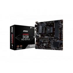 B450M PRO-VDH PLUS MB MSI B450 PRO-VDH PLUS AM4 RYZEN 4D4 4S3 1M.2 6U3 PCIE GBLAN V/D/H