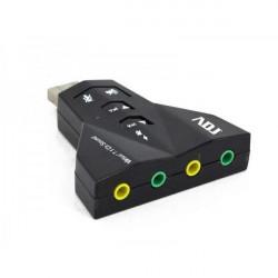 130-00004 SCHEDA AUDIO 7.1 3D USB 2.0 BK WIN2000/XP/VISTA/7-8/MAC0S9.1/LINUX 4213963314107 ADJ