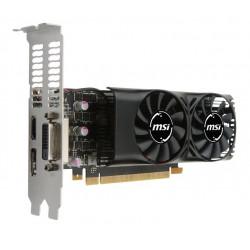 GTX 1050 TI 4GT LP VGA MSI NVIDIA GTX 1050 TI 4GT LP 4GB DDR5 DVI-D HDMI DISPLAYPORT 4719072493912