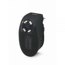 2191218 STUFA PLUGGY MINI T/VENTILATORE NERO C/DISPLAY LED 8029121912186 KOOPER