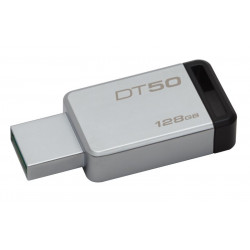 DT50/128GB PEN DRIVE 3.1 128GB DT50 KINGSTON SILVER/NERA 740617255812 KINGSTON