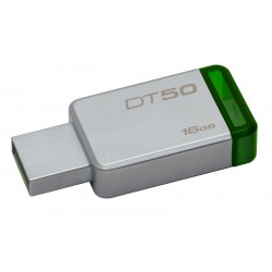 DT50/16GB PEN DRIVE 3.1 16GB DT50 KINGSTON SILVER/VERDE 740617255638 KINGSTON
