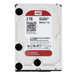 WD20EFRX HD 3,5 2TB 5400RPM 64MB SATA3 RED WD RED NAS STORAGE 0718037799667 WESTERN DIGITAL