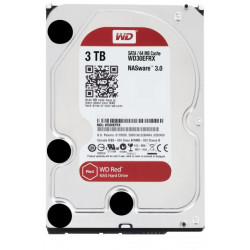 WD30EFRX HD 3,5 3TB 5400RPM 64MB SATA3 RED WD RED NAS STORAGE 0718037799674 WESTERN DIGITAL