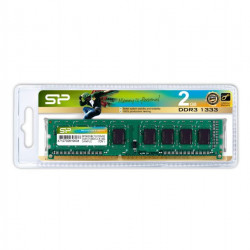 SP002GBLTU133V02-PO DDR3 2GB 1333 MHZ DIMM SILICON 4712702619034 SILICON POWER