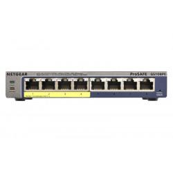 GS108PE-300EUS SWITCH 8P GIGABIT DI CUI 4P POE NET GEAR 0606449103441 NETGEAR