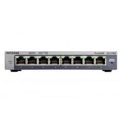 GS108E-300PES SWITCH 8P GIGABIT METAL CASE DESKTO P 0606449103403 NETGEAR