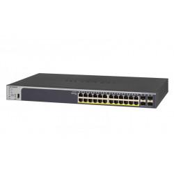 GS728TPP-200EUS SWITCH SMART 24P GIGABIT POE+ 380W RJ45 SUPPORTO IPV6 0606449131673 NETGEAR