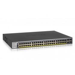 GS752TP-200EUS SWITCH SMART 48P GIGABIT POE+ 380W RJ45 SUPPORTO IPV6 0606449131390 NETGEAR