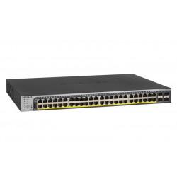 GS752TPP-100EUS SWITCH SMART 48P GIGABIT POE+ 760W RJ45 SUPPORTO IPV6 0606449131574 NETGEAR
