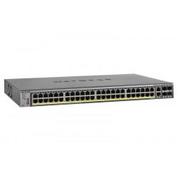 GSM7248P-100NES SWITCH 48P 10/100/1000 RJ45 POE+ 2P GIGABIT RJ45 NO POE+4P COMBO SFP 606449088038