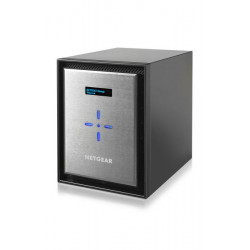 RN526X00-100NES NAS NETGEAR 6SLOT INTEL DUAL CORE 2,2GHZ 4GB DDR4 ECC 2P 10GBE 0606449115352 NETGEAR